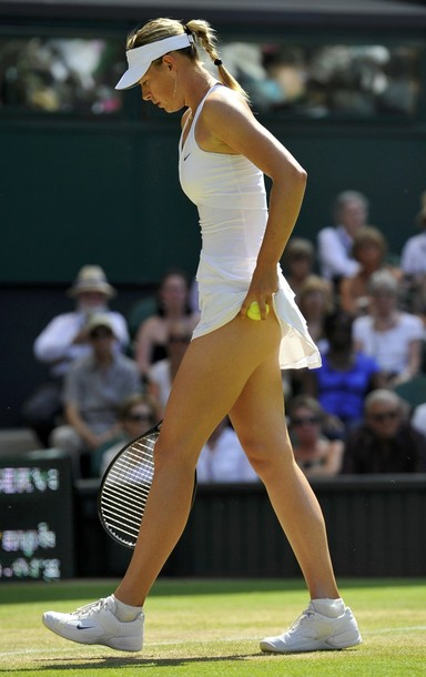 maria sharapova tennis. Tennis ace Maria Sharapova has